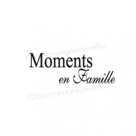 tampon moments en famille - nm