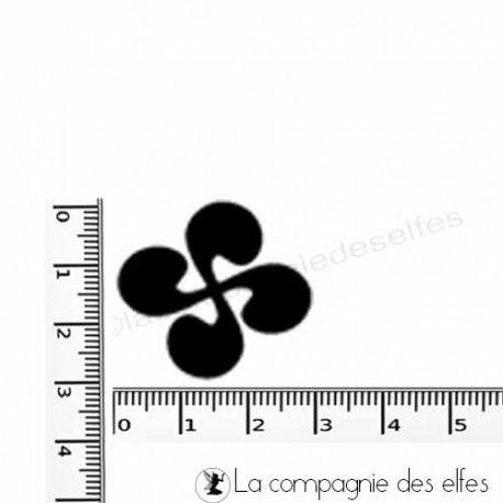 tampon encreur croix basque | croix basque stamp