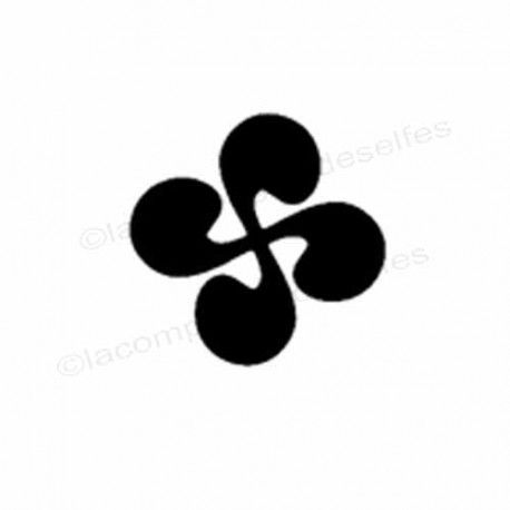 croix basque tampon   tampon pour bijou