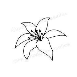 Tampon encreur fleur du colibri