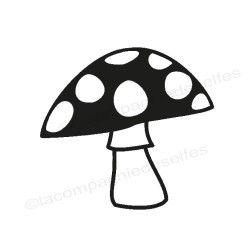 pilz stempel | hongo sello de goma | fungo timbro