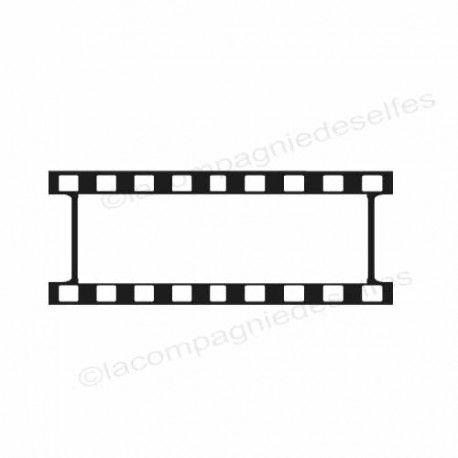 Tampon encreur film | tampon scrapbooking négatif