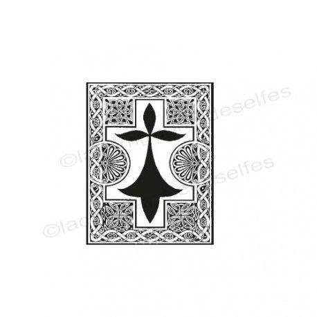 tampon breton | britain stamp | ermine rubber stamp