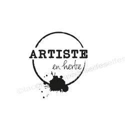 ARTISTE en herbe tampon nm