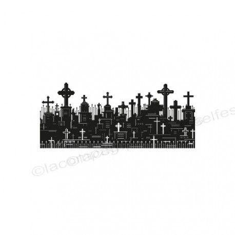 halloween stamp | stempel halloween | tampon croix