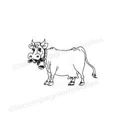 la vache - tampon nm