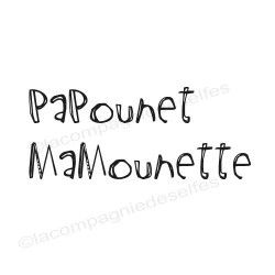 PaPounet - MaMounette tampons nm