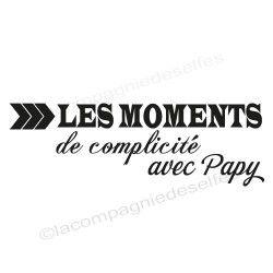 moments de complicité avec Papy - tampon nm