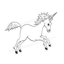tampon licorne | unicorn stamp