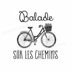ballade stamp| tampon scrap balade | tampon vélo