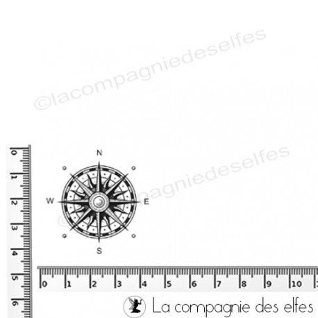 compass rose stamp | windrose stempel | tampon rose vents