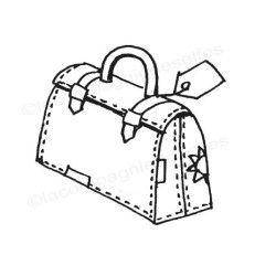 Tampon scrapbooking valise