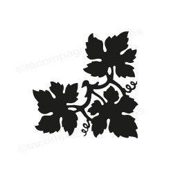 Tampon encreur vigne | tampon encreur feuille mariage | vine leaf stamp