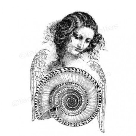 Mini album dentelles et vieux papiers par Clara. Neptune-tampon-nm