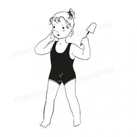 tampon plage | tampon vacances mer | tampon encreur rétro | tampon collection rétro
