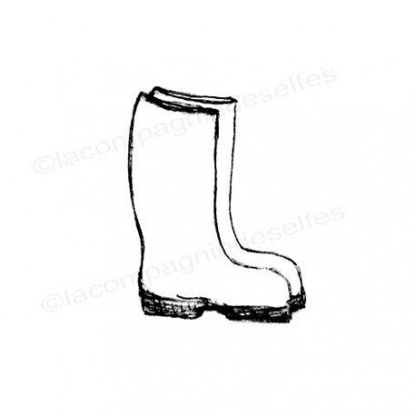 boot stamp | stiefel stempel | tampon scrapbooking botte | artstamp