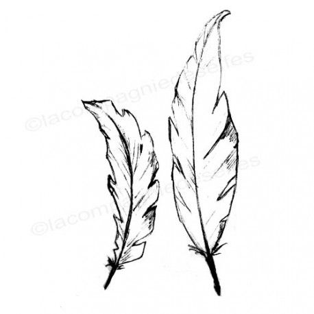 feather stamp | tampon plume [ tampon encreur plumes | stempel feder