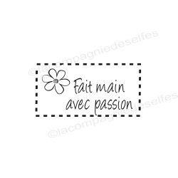 Tampon fait avec passion