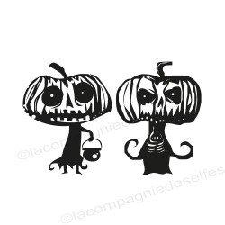 tampon potiron |tampon citrouille | pumpkin rubber stamp