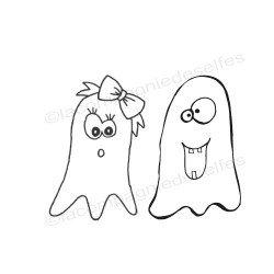 ghost stamp | tampon encreur fantôme | tampon scrap |achat tampon scrap