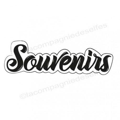 Tampon scrapbooking souvenir| tampon encreur souvenirs | tampon mariage souvenir