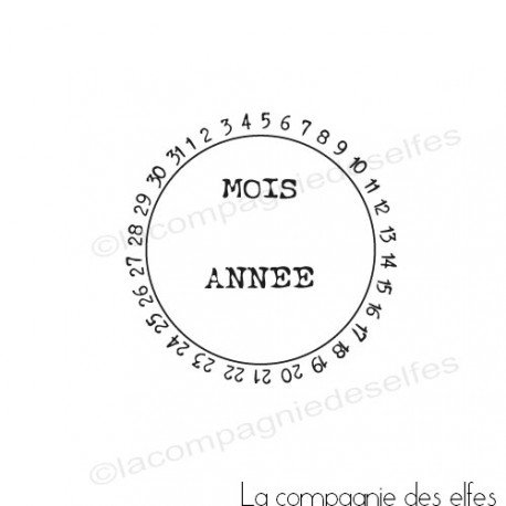 Sketch carte ou page XoXo. Tampon-dateur-universel-nm