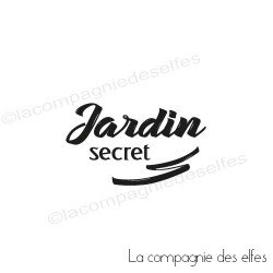 Tampon jardin secret