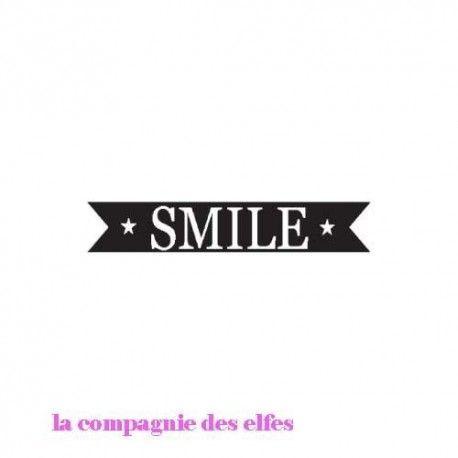 Pocket letter de Cricri en forme de calendrier de l'avent Smile-tampon-nm