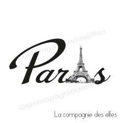 Tampon encreur Paris | Paris rubber stamp | tampon scrap paris