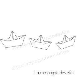 petits bateaux - tampons non montés