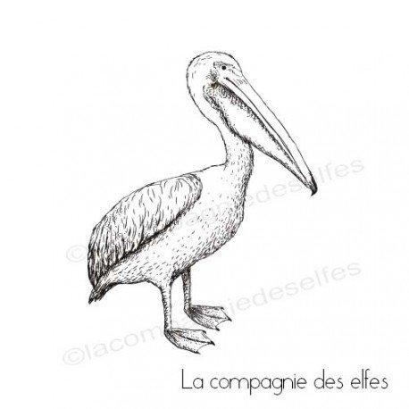Tampon encreur pélican | pelican rubber stamp