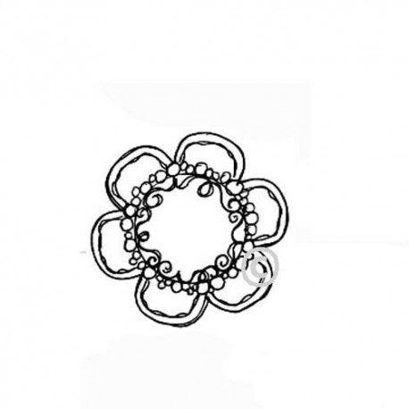Fleur - tampon non monté