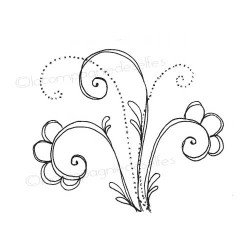 Tampon arabesque   tampon doodling