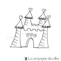 le château de princesse tampon nm