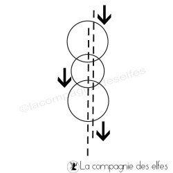 tampon frénésie graphique cercle