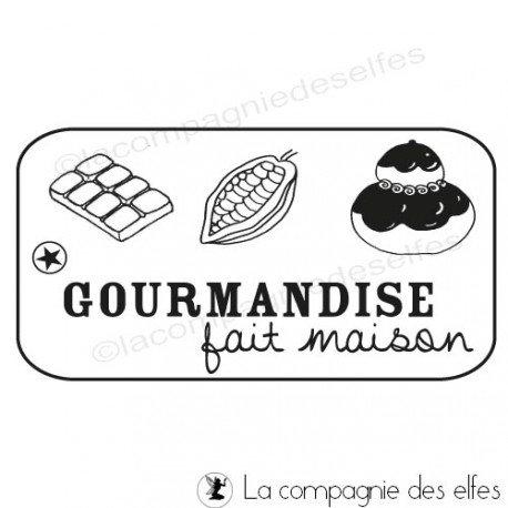 Tampon gourmandise | tampon chocolat