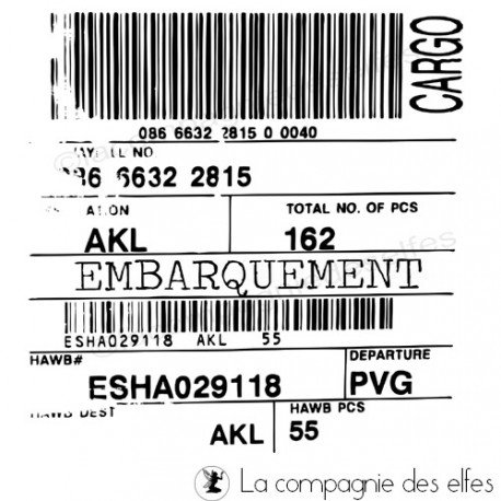 Carte poche 1/3 Embarquement-tampon-nm