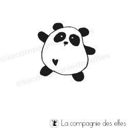 tampon kawaii panda - non monté
