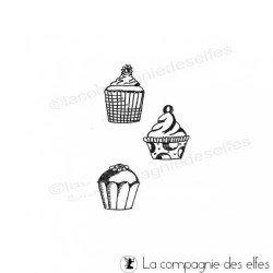 Tampon cupcake | kitchen stamp