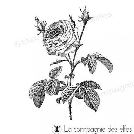 Tampon rosier | tampon encreur rose