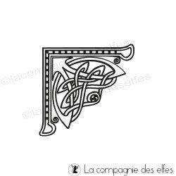 Tampon encreur celte | tampon encreur celtique