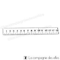 Tampon couturière | tampon mètre couture