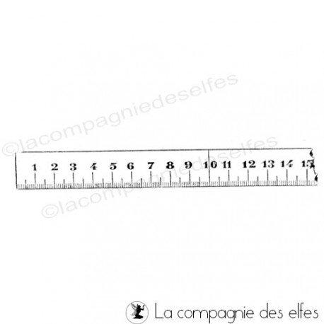 cartes 1/3  Metre-ruban-couture-tampon-non-monte