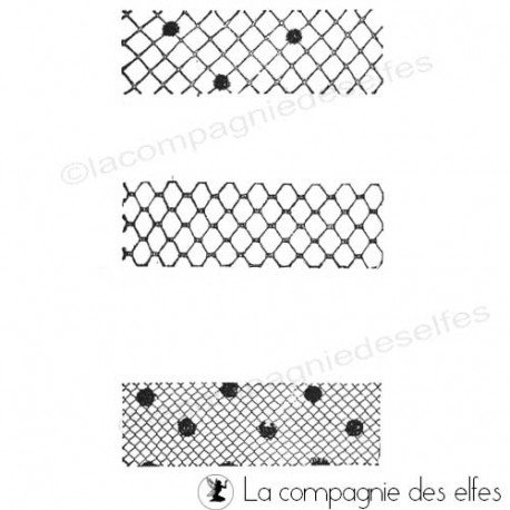 tampon voile | tampon dentelle