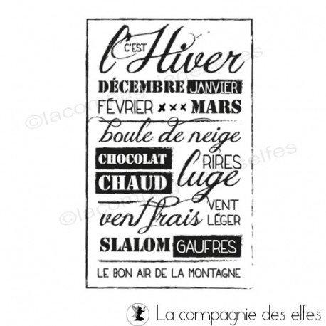 tampon Sokaï | tampon gauffre | tampon chocolat