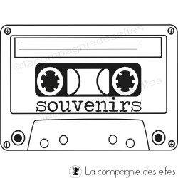 cassette souvenirs - tampon nm