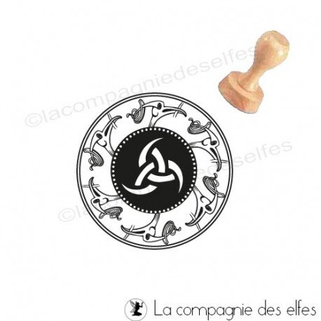 triple horn of Odin   odin rubber stamp   rune stamp