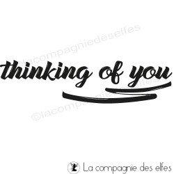 tampon thinking of you, non monté