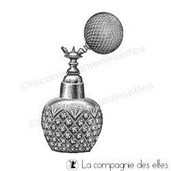vaporisateur parfum vintage tampon nm