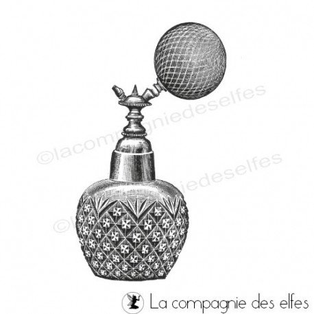 Tampon encreur parfum | tampon parfumerie